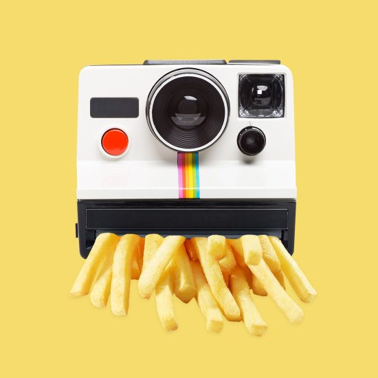 Fries Pilaroid by Mook