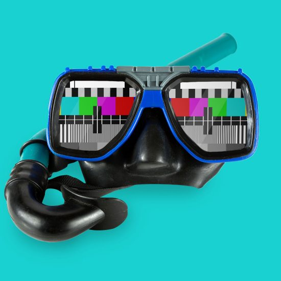 Goggle TV by Mook