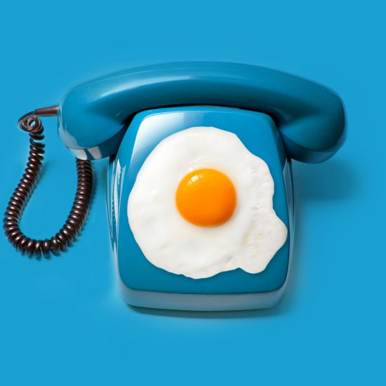 Egg Phone By Mook